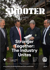 NSW Shooter Magazine Cover June 2021