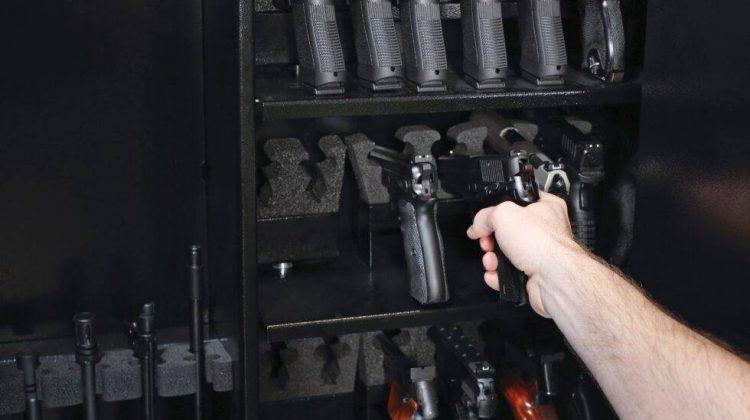 Safe storage of a firearm